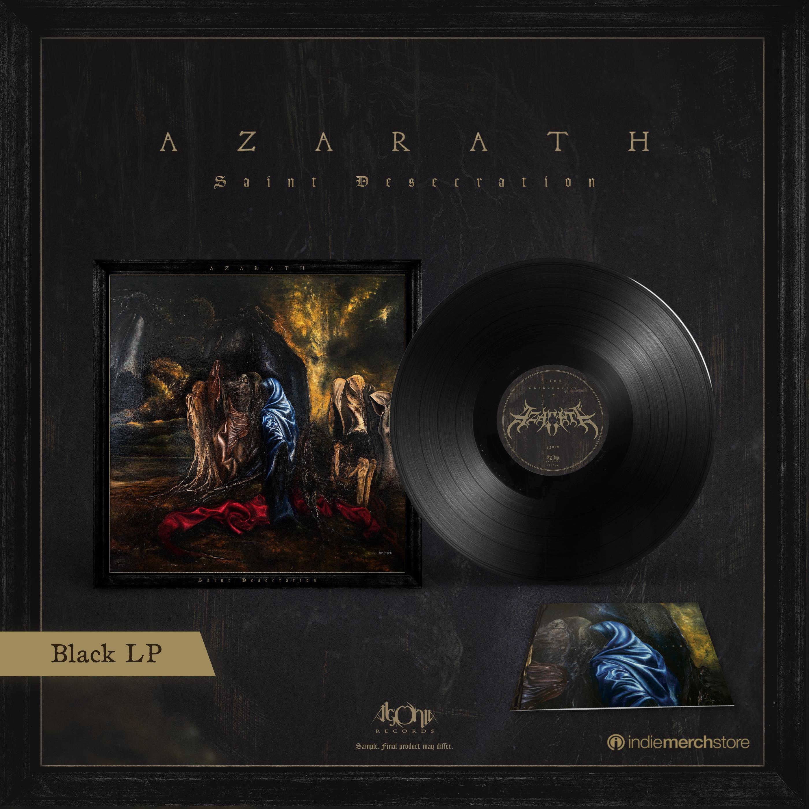 Saint Desecration Black LP + Longsleeve Bundle