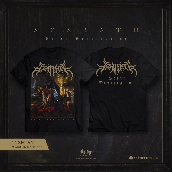 Saint Desecration Jewelcase CD + Tee Bundle