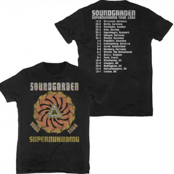 Superunknown Spiral Tour Dates