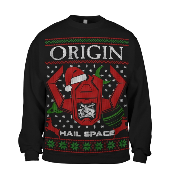 Hail Space Holiday Sweater