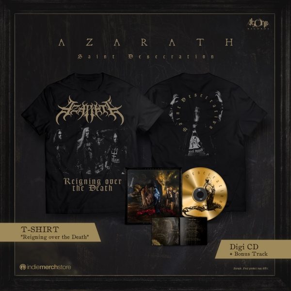 Saint Desecration Digipak CD + Tee Bundle