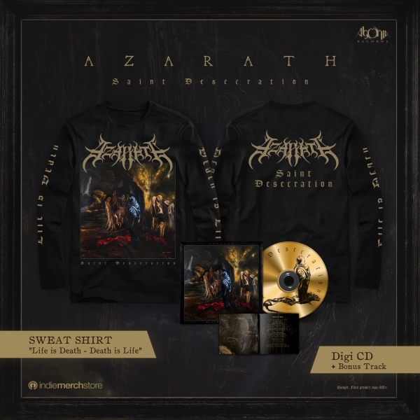 Saint Desecration Digipak CD + Longsleeve Bundle