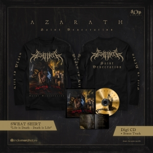 Saint Desecration Digipak CD + Longsleeve Bundle