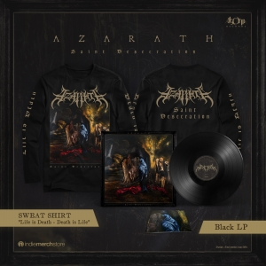 Pre-Order: Saint Desecration Black LP + Longsleeve Bundle
