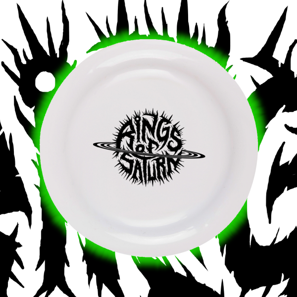Logo Glow In Dark Frisbee