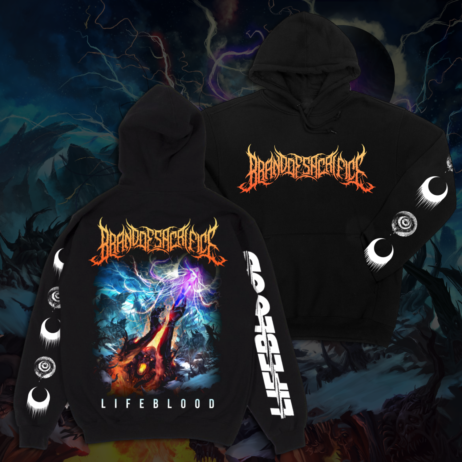 LIFEBLOOD Hoodie + LIFEBLOOD CD Bundle