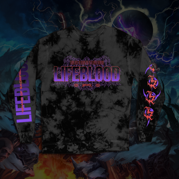 Lifeblood CUSTOM TIE-DYE