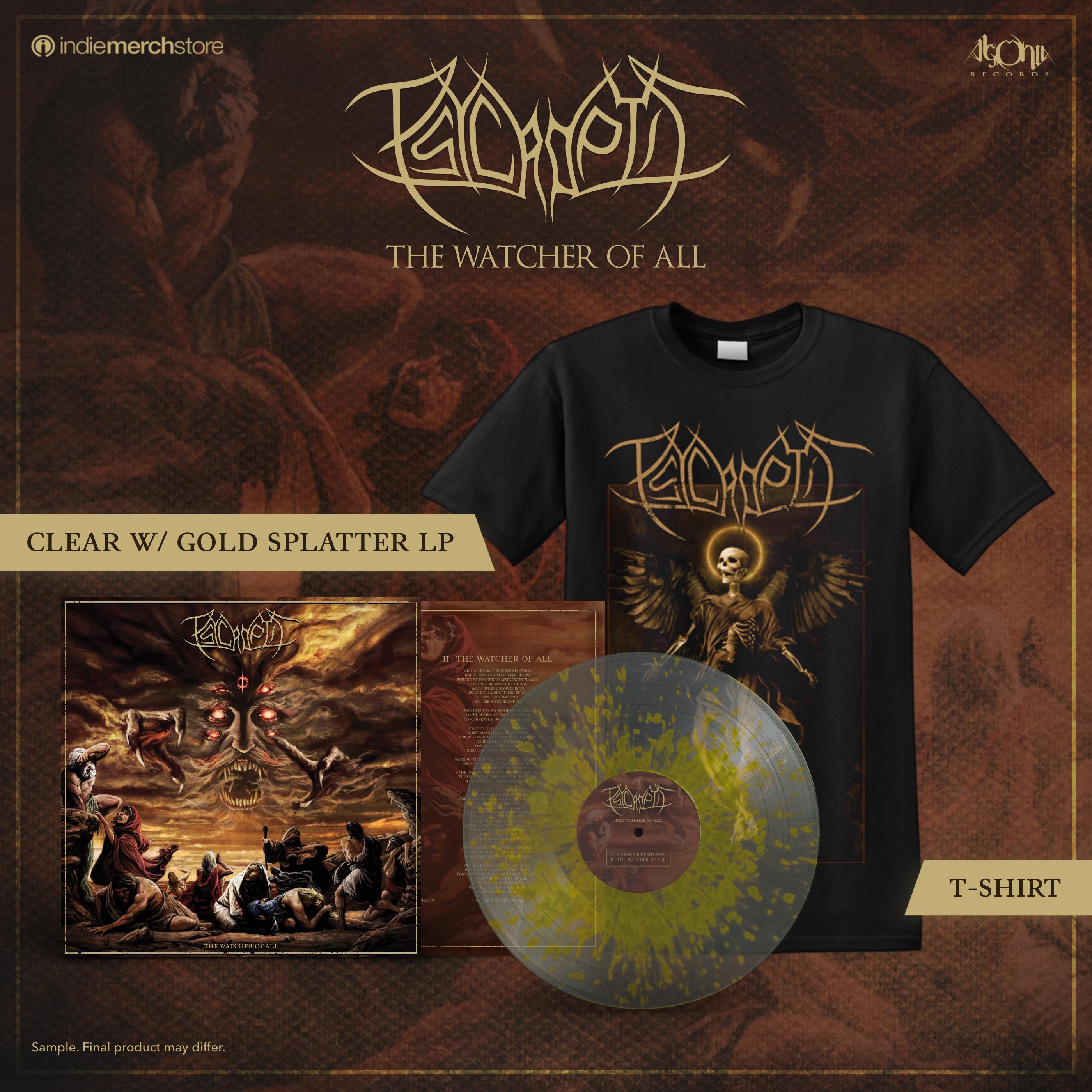 The Watcher of All Tee + Splatter LP Bundle