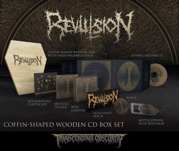Revulsion Wooden Coffin Box