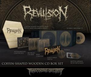Pre-Order: Revulsion Wooden Coffin Box