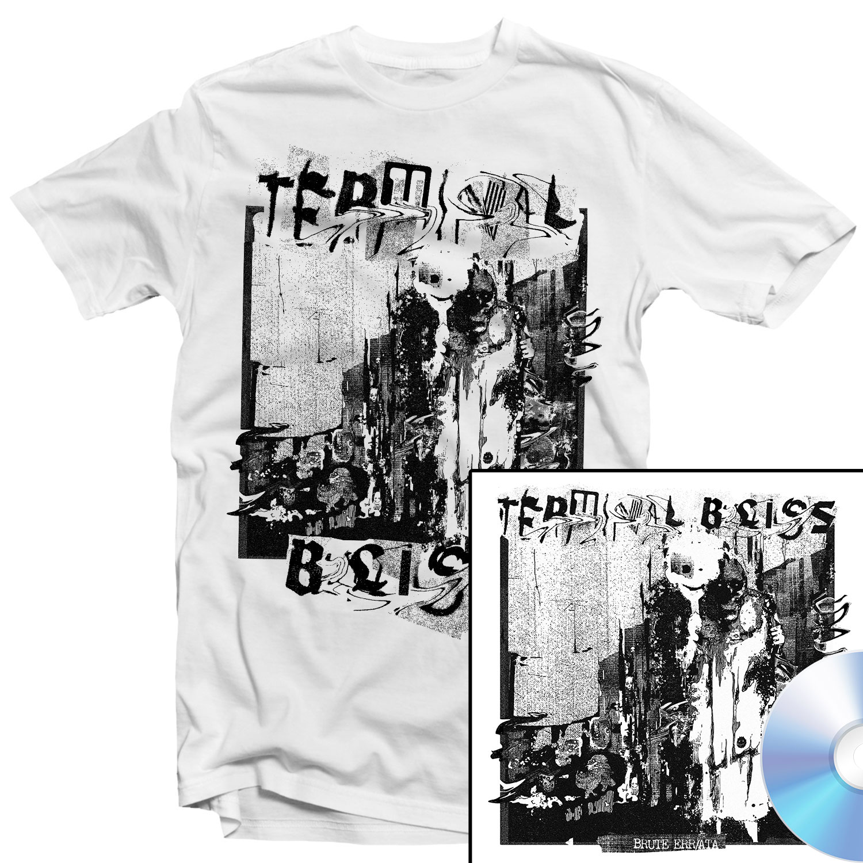 Brute Err/ata T Shirt + CD Bundle