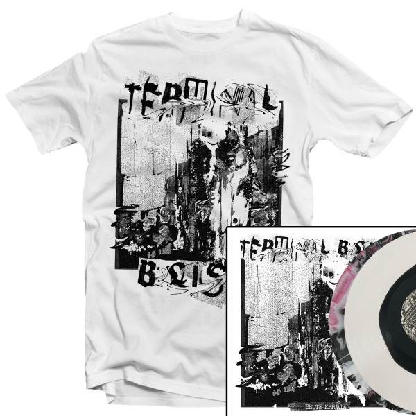 Brute Err/ata T Shirt + LP Bundle