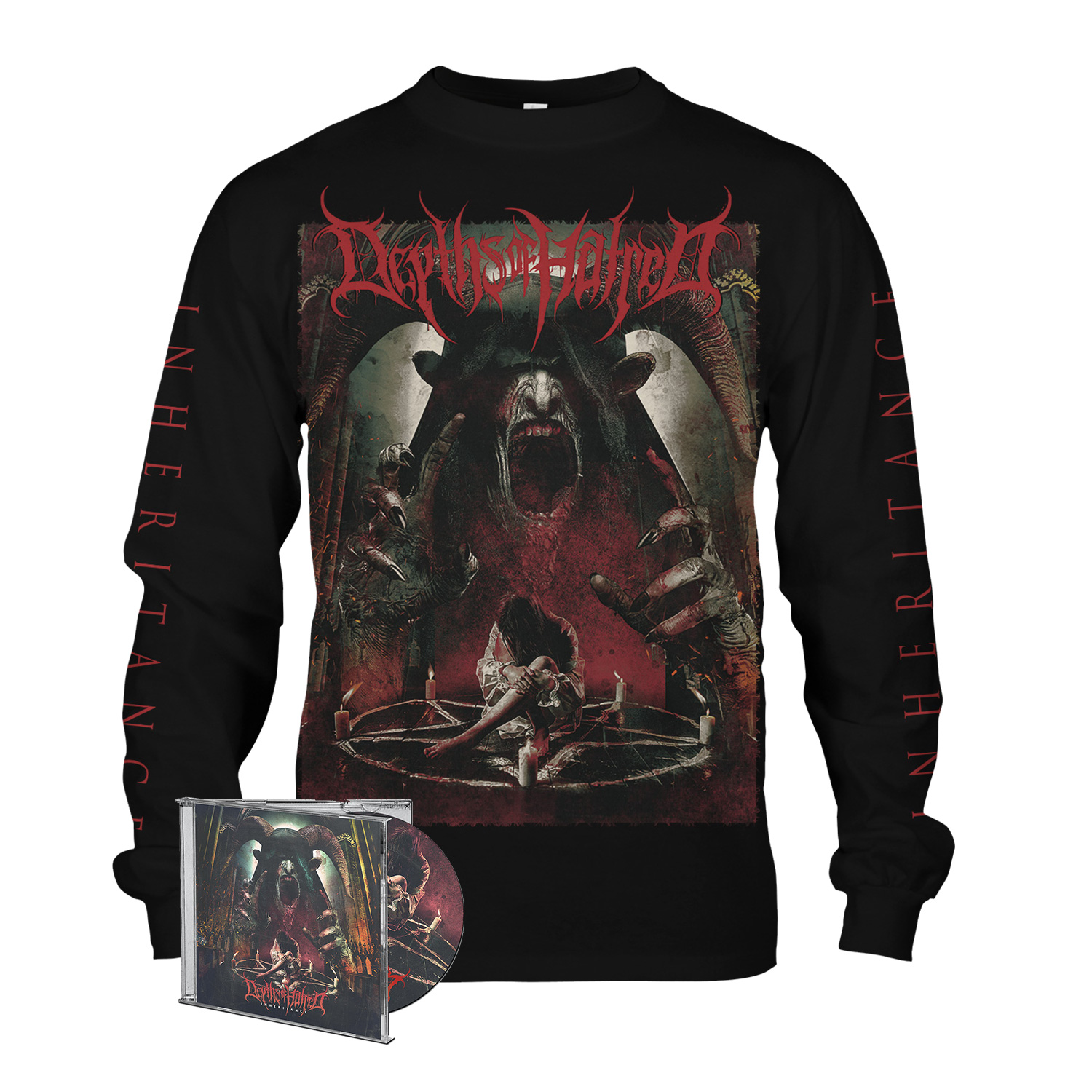 Inheritance CD/Longsleeve Bundle