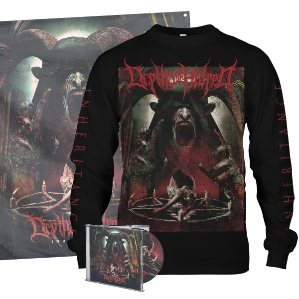 Inheritance CD/Longsleeve/Flag Bundle