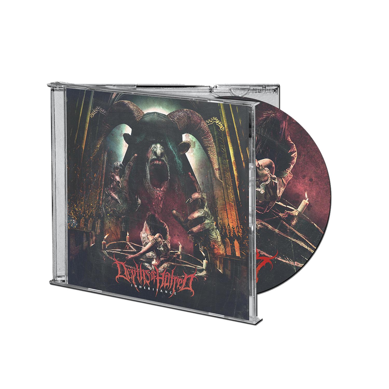 Inheritance CD/Longsleeve/Flag Bundle