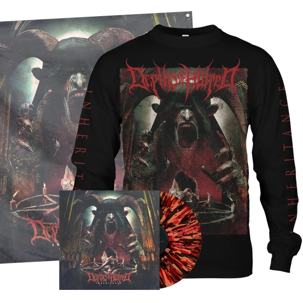 Inheritance LP/Longsleeve/Flag Bundle