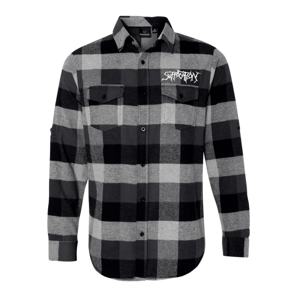Logo Embroidered Flannel