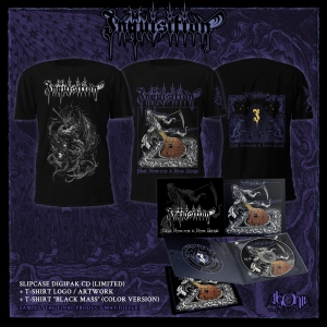 Black Mass For A Mass Grave Tee + CD Bundle