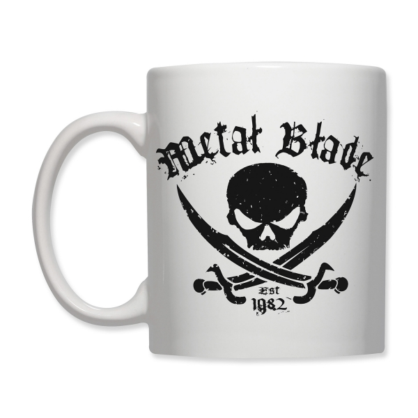 Pirate Logo Mug - White