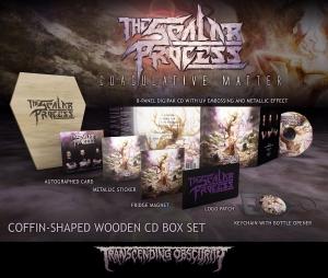 Pre-Order: Coagulative Matter Coffin-Shaped Wooden CD Box Set