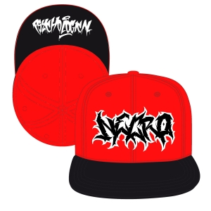 Graffiti Death Metal (Red/Black)