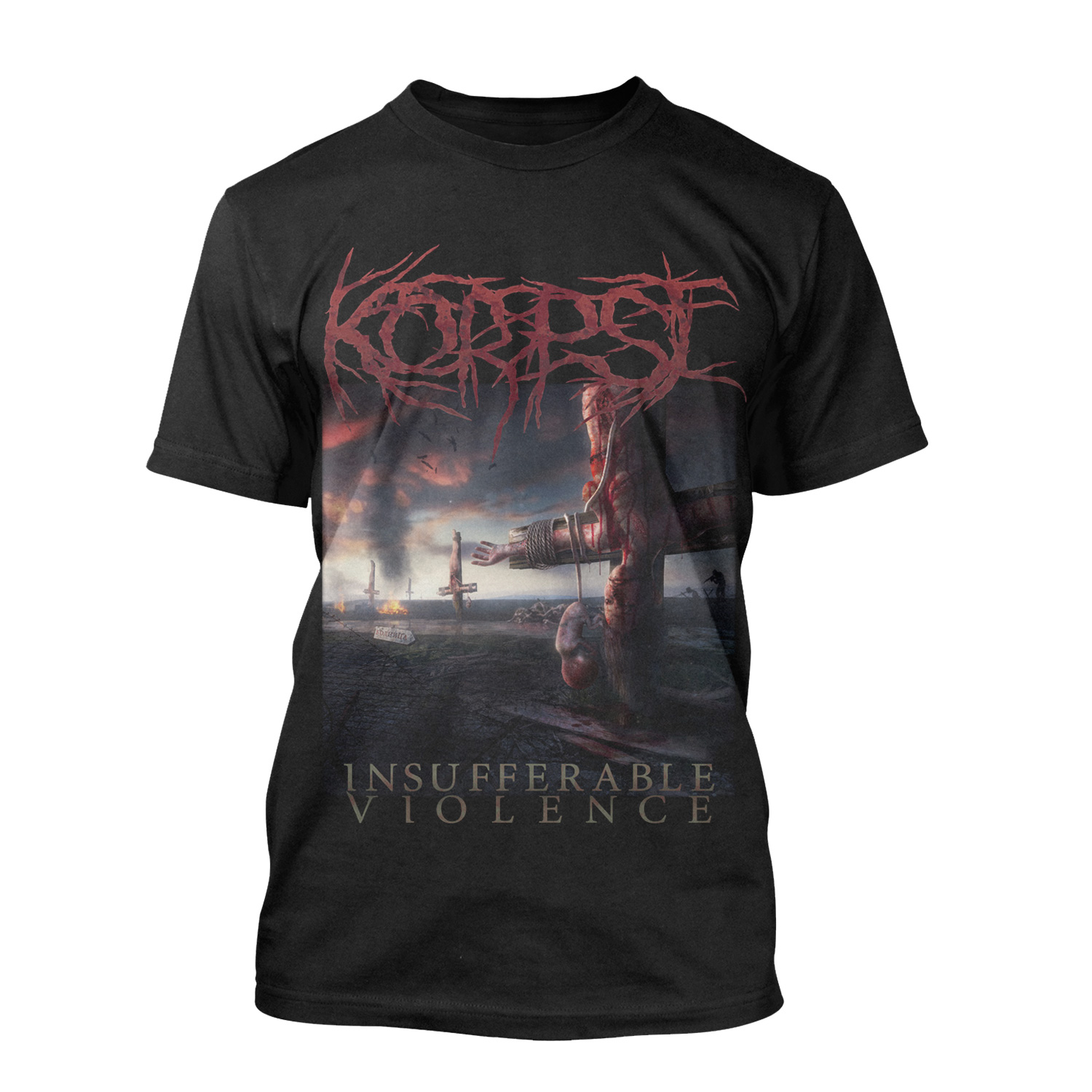 Insufferable Violence CD + Tee Bundle