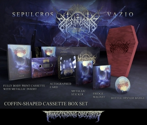 Pre-Order: Vazio Autographed Coffin-Shaped Wooden Cassette Box Set