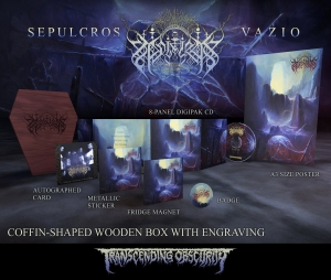 Pre-Order: Vazio Wooden Coffin Shaped CD Box Set