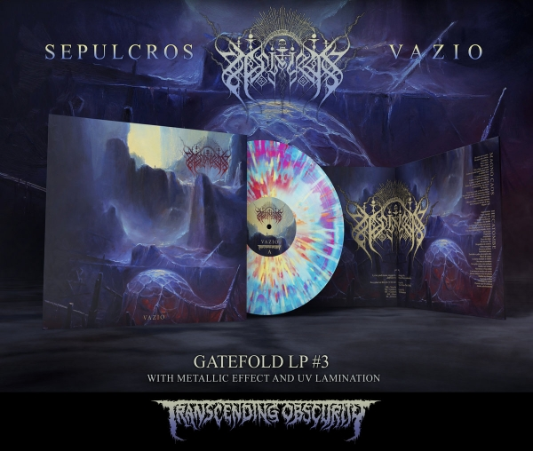 Vazio Gatefold LP with Metallic Effect and UV Embossing