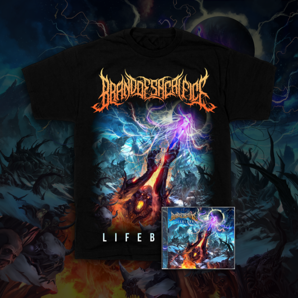 LIFEBLOOD TEE + LIFEBLOOD CD Bundle