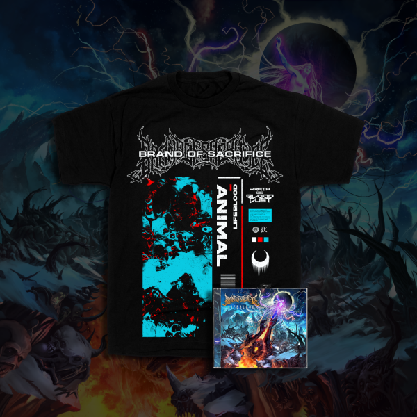Animal Tee + LIFEBLOOD CD Bundle