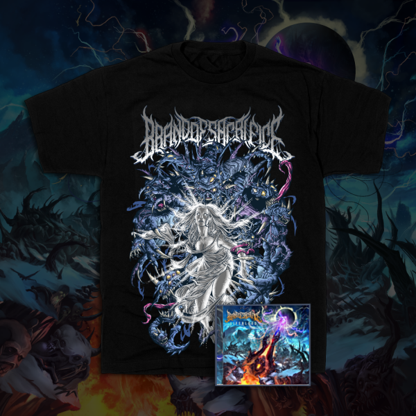 Awakened Tee + LIFEBLOOD CD Bundle