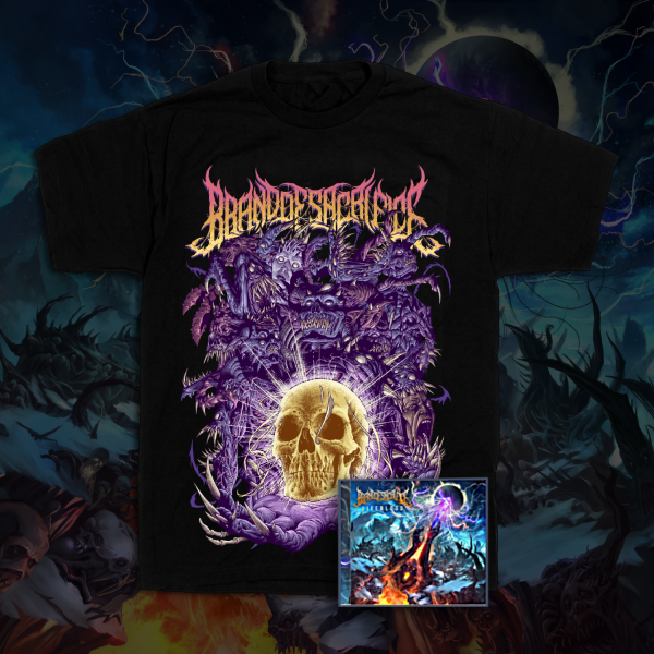 Demon Wave Tee + LIFEBLOOD CD Bundle
