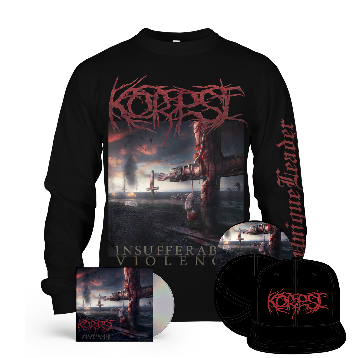 Insufferable Violence Longsleeve + CD Bundle