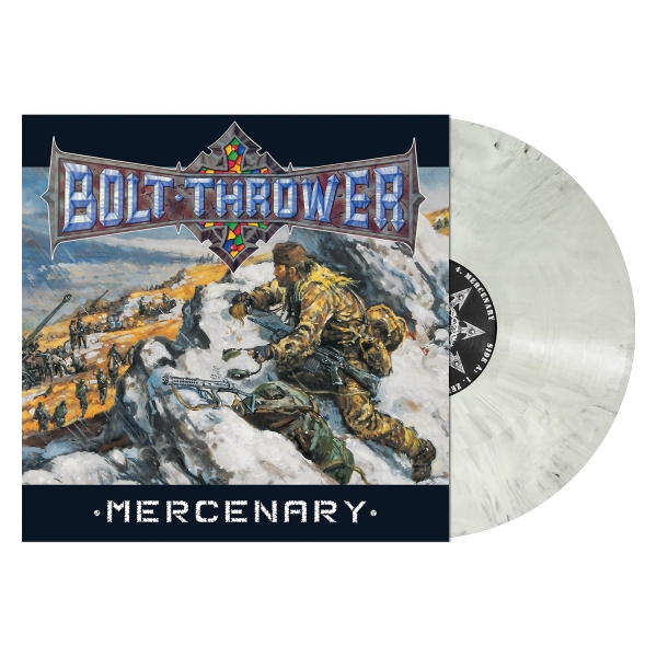 Mercenary (Snow Slush White Marbled Vinyl)