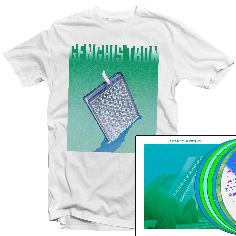 Pyrocene T Shirt + Dream Weapon LP Bundle