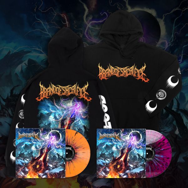 "LIFEBLOOD Hoodie + 12"" Vinyl Bundle 2nd Press"