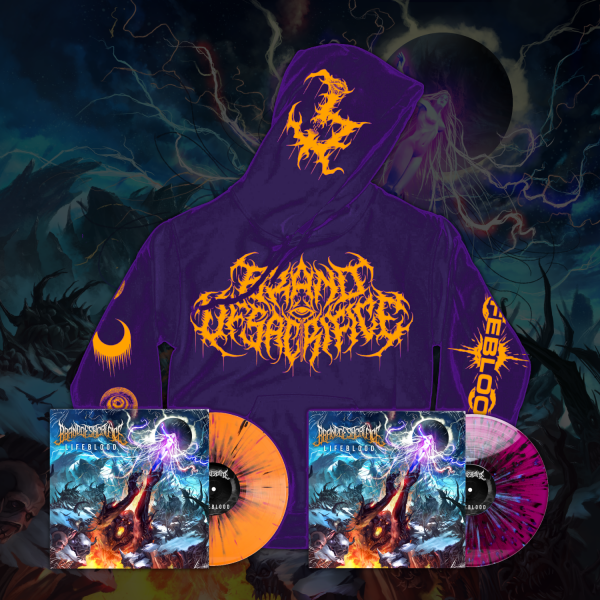 "LIFEBLOOD Purple Hoodie + 12"" Vinyl Bundle 2nd Press"