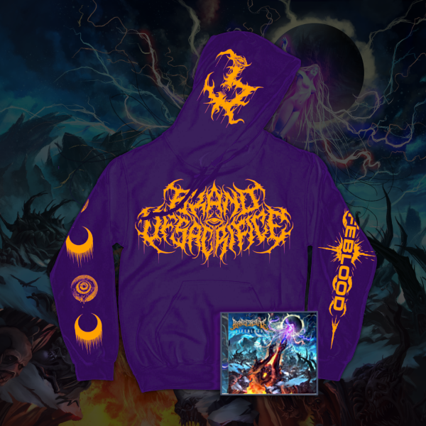 LIFEBLOOD Purple Hoodie + LIFEBLOOD CD Bundle