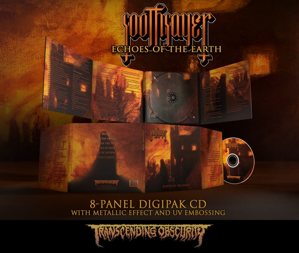Echoes of the Earth 8-Panel Digipak CD