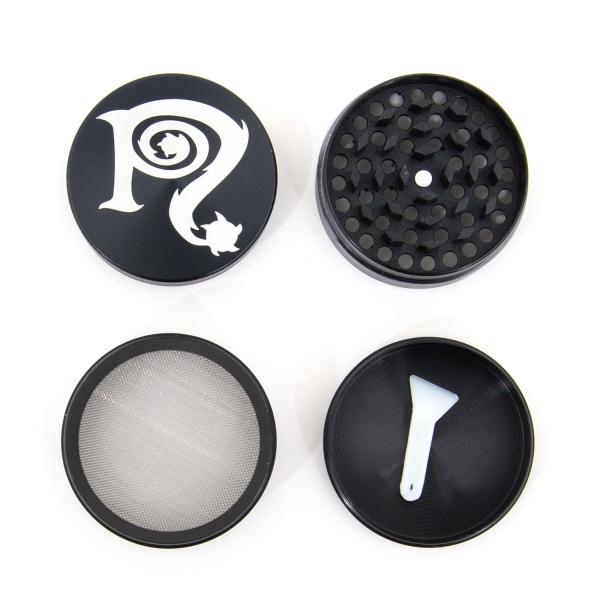 Grinder / Tray Set (Black)