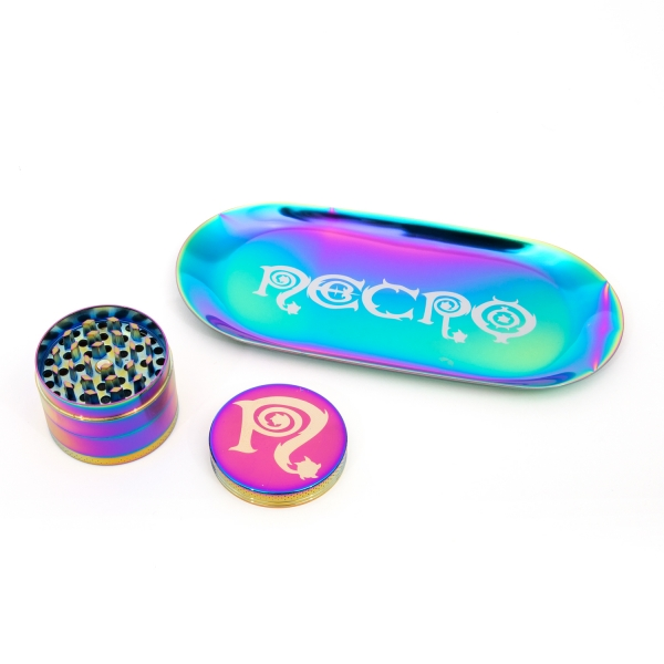 Grinder / Tray Set (Rainbow)