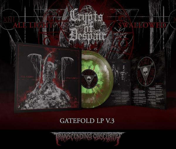 All Light Swallowed Gatefold LP