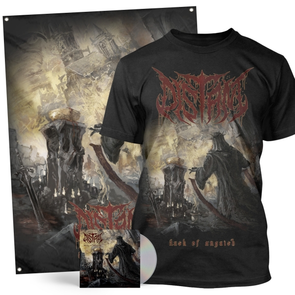 Dusk Of Anguish CD + Tee Bundle