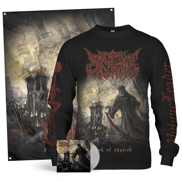 Dusk Of Anguish CD + Longsleeve Bundle