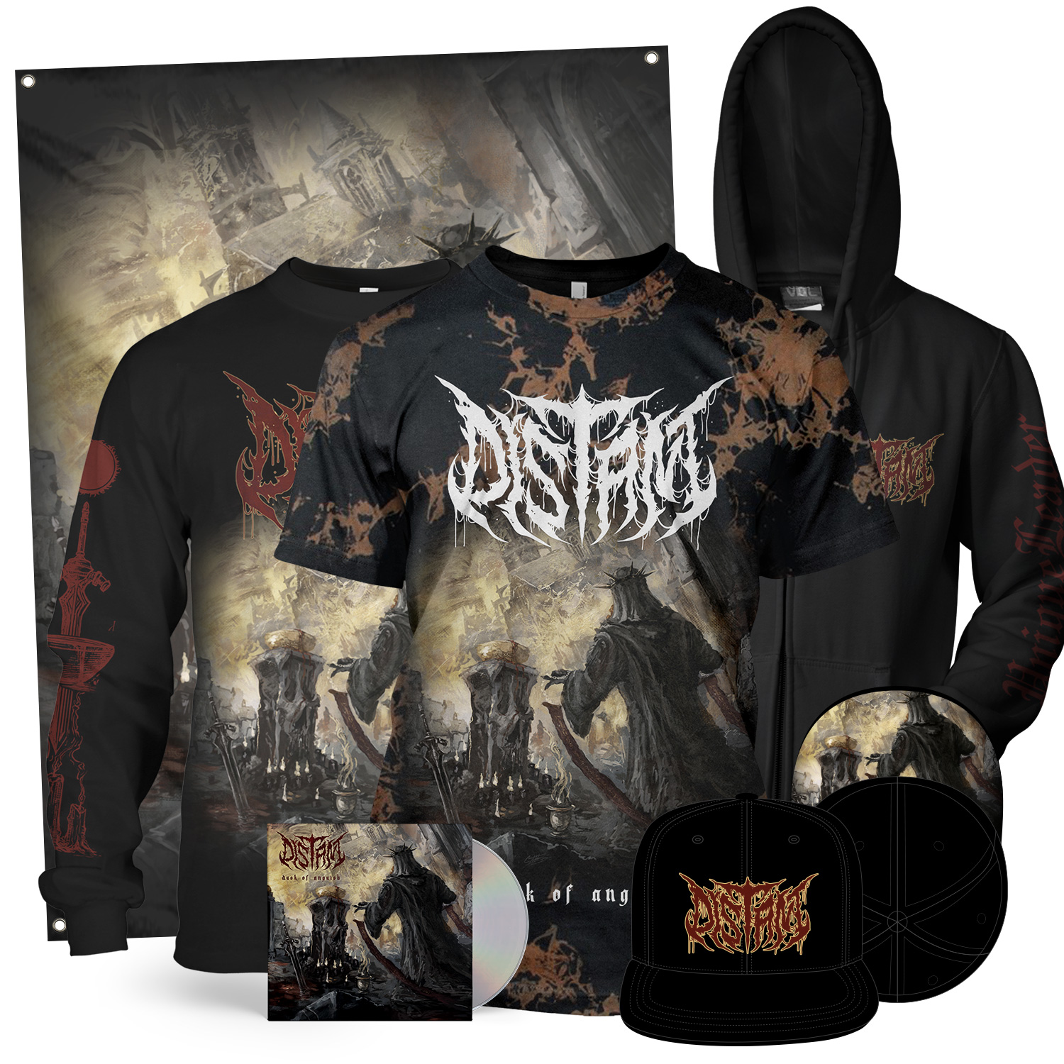 Dusk Of Anguish Collector's Bundle