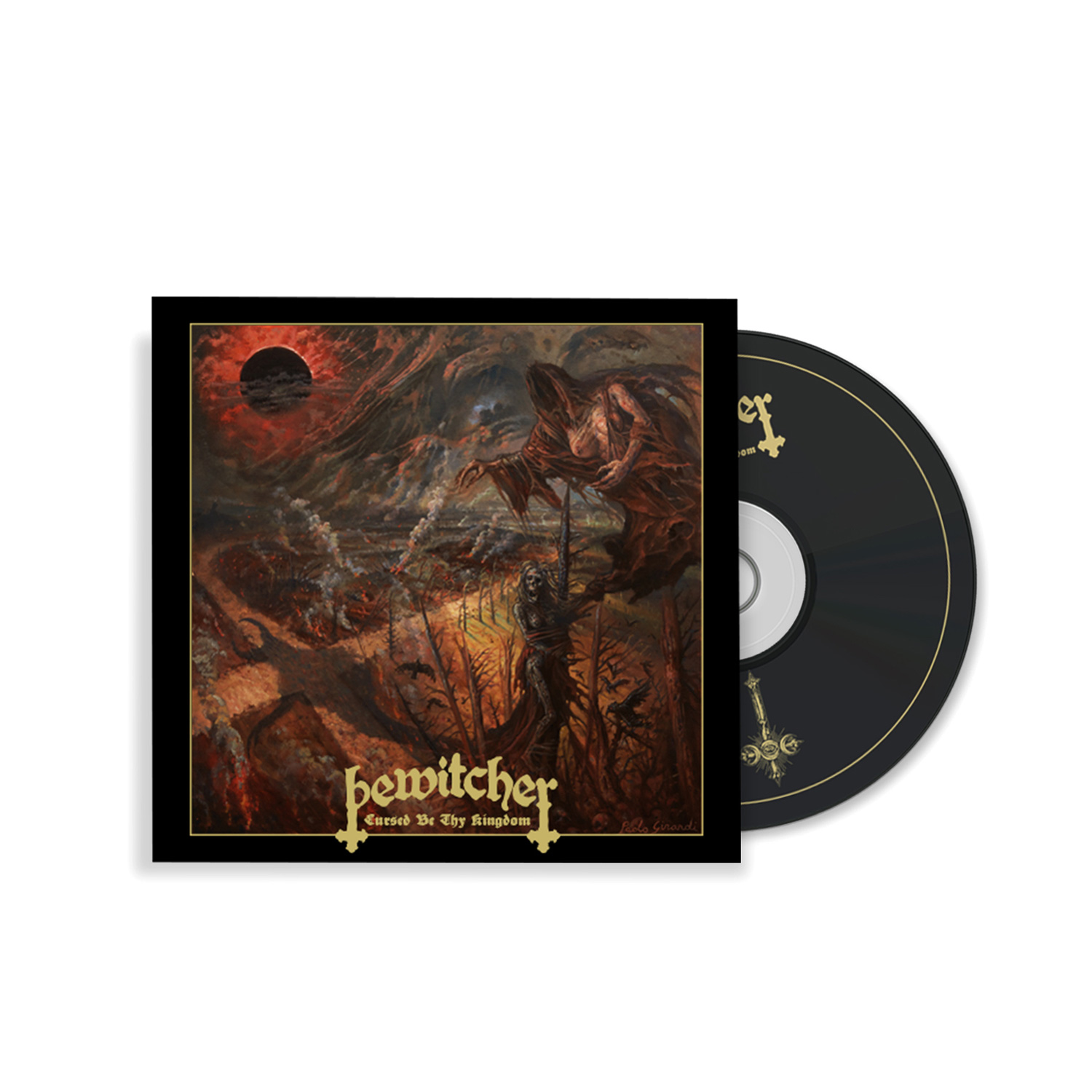 Cursed Be Thy Kingdom Tee/CD Bundle