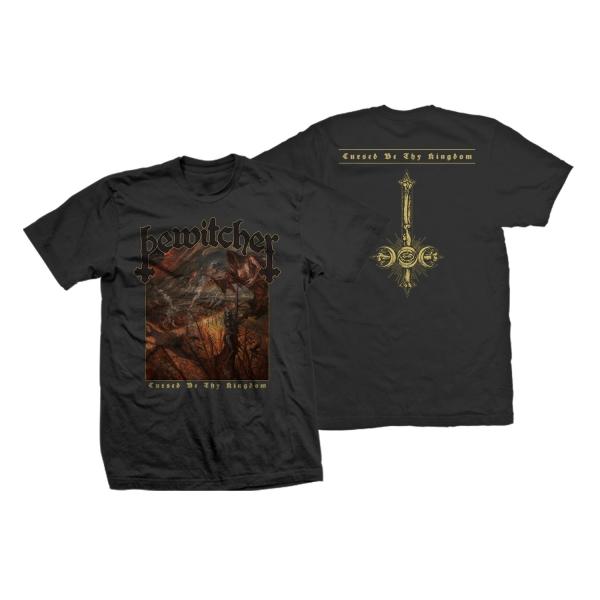 Cursed Be Thy Kingdom Tee/LP Bundle