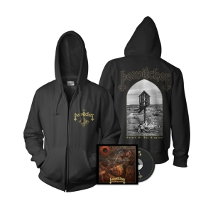 Pre-Order: Cursed Be Thy Kingdom Hoodie/CD Bundle