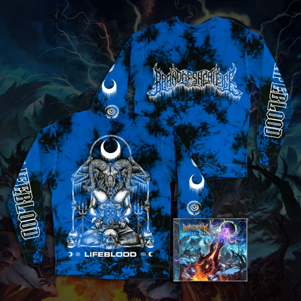 Blue Crystal Dye Long Sleeve w/ CD